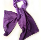 Silk purple scarf