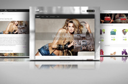 Fashion – web shop WP template